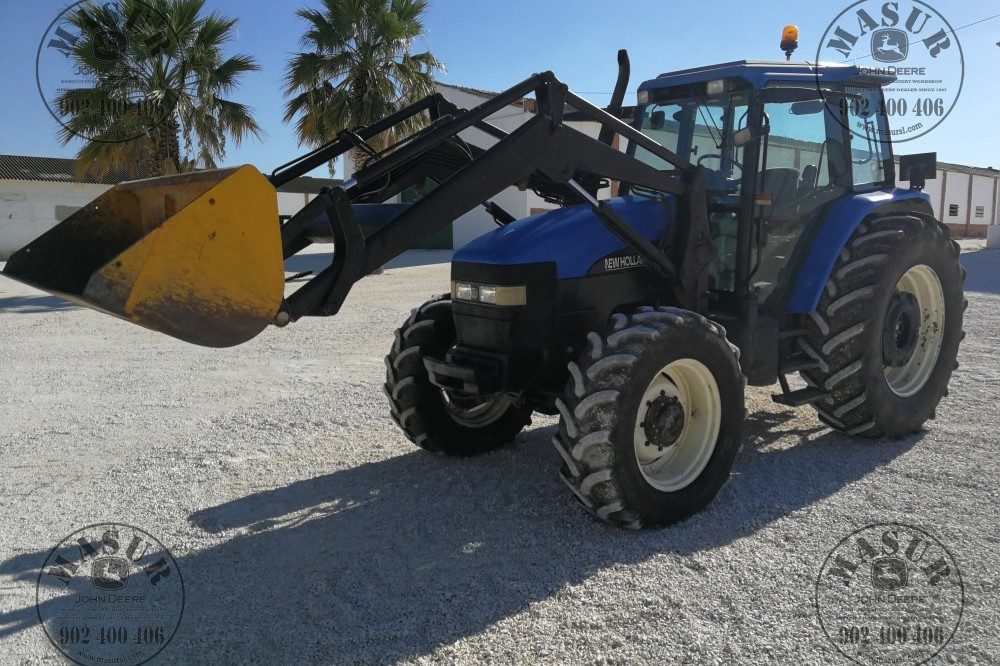 New Holland TM-125 New holland