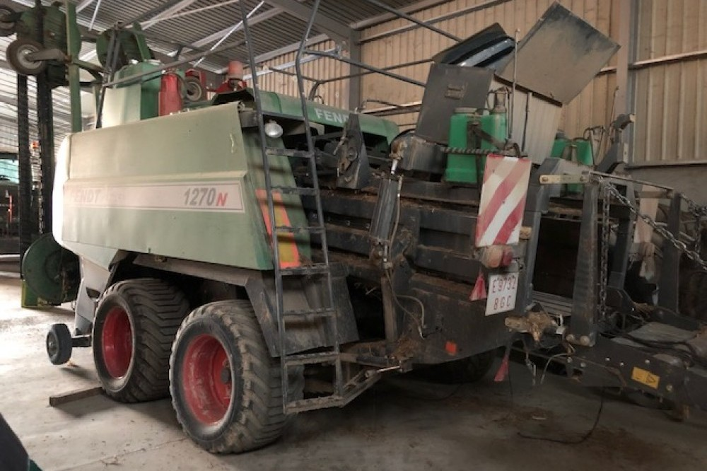 Empacadora Big Baler Fendt 1270N