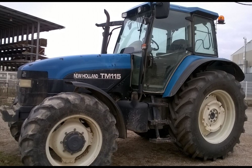 New Holland TM115 New holland