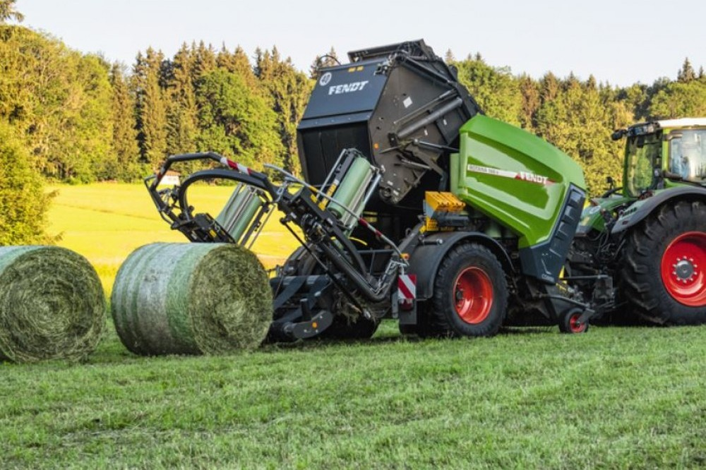 Rotoempacadora de cámara variable Fendt Fendt