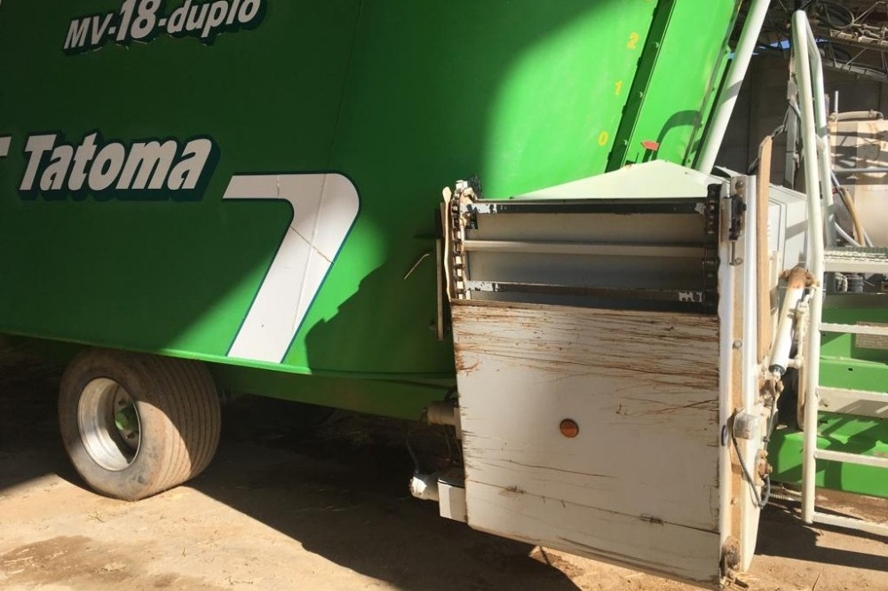 Carro mezclador Unifeed Tatoma EMV-18B-DD Tatoma