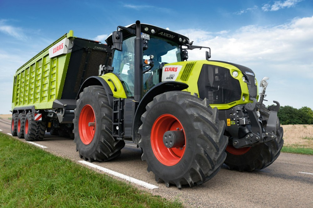 Claas Axion Serie 800