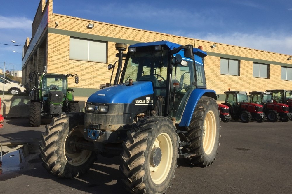 New Holland TS100 4WD New holland