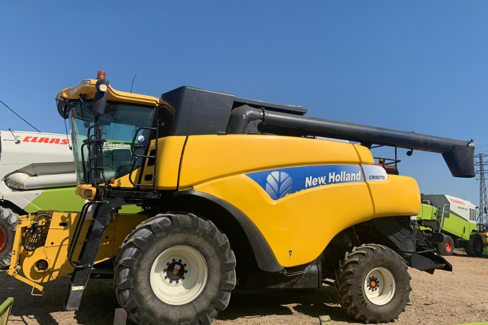COSECHADORA NEW HOLLAND New holland