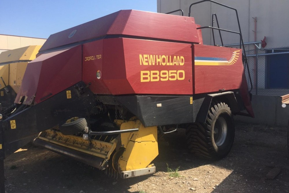 EMPACADORA NEW HOLLAND BB950 CROP CUTTER New holland