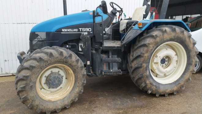 Tractor New Holland TS90 New holland