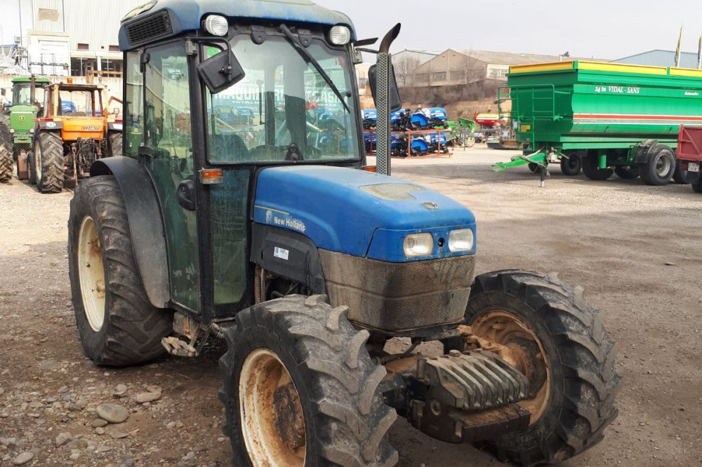 Tractor New Holland TN 90 F Cabina