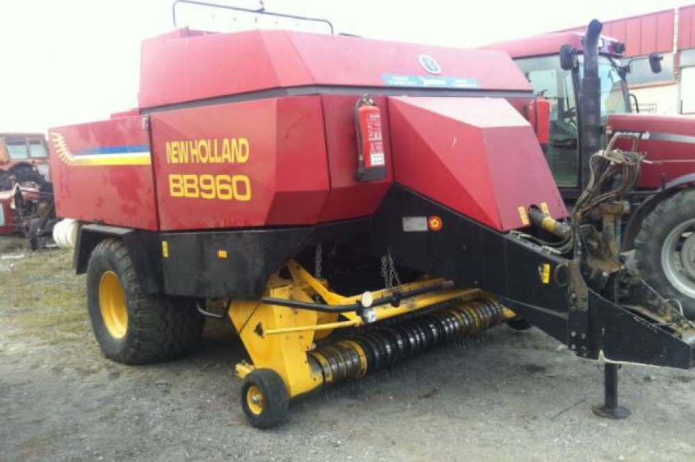 Empacadora New Holland BB960 New holland